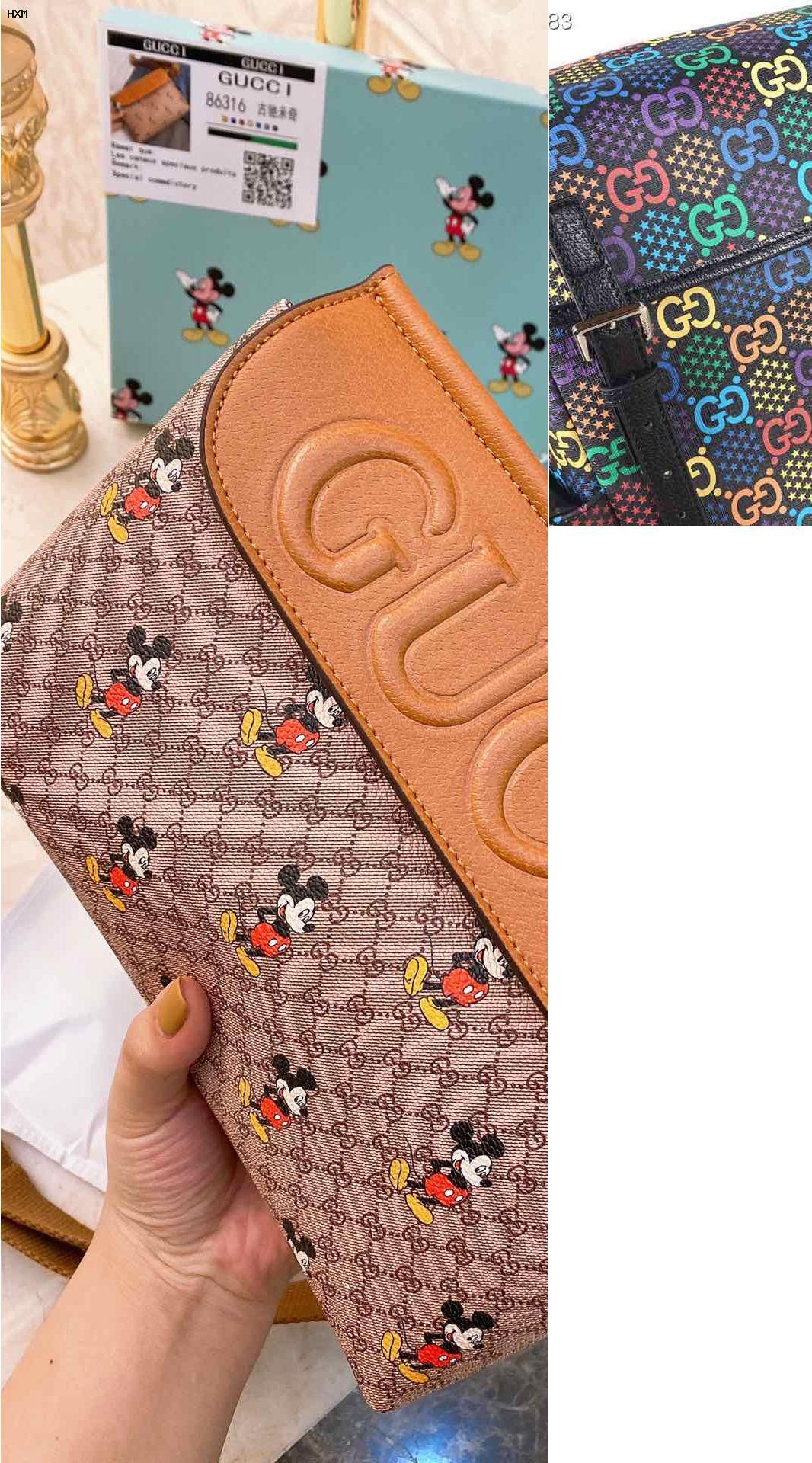 gucci canvas shopper bag